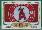2015 TOPPS ALLEN & GINTER MIKE TROUT BOX TOPPER GAME USED JUMBO PATCH 1 1 ANGELS