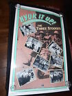 Three Stooges Moe Larry Curly Original 1984 Video Rolled One Sheet Poster