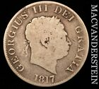 GREAT BRITAIN: 1817 HALF CROWN - GEORGE III - SCARCE!!  #U4676