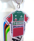 7 Eleven Cycling Team Jersey Key Ring 1988 Tour De France Hampsten Giro Rapha