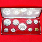 1974 BAHAMAS (9 PIECE) SILVER PROOF SET(4 SILVER COINS)FRANKLIN MINT RARE ISSUE