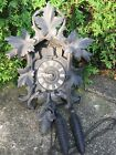Large Early Antique German Black Forest Finely Carved Cuckoo Clock G K