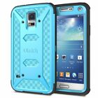 Heavy Duty Hybrid Rugged Shockproof Case Cover for Samsung Galaxy S5 i9600