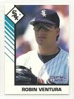 1993 Kenner Starting Lineup Baseball Card A - Robin Ventura - Chicago White Sox