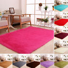 US 120x160cm Fluffy Rugs Anti Skid Shaggy Area Rug Carpet Floor Mat Home Bedroom