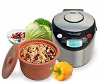 VitaClay Smart Organic Multi-Cooker- A Rice Cooker Slow Cooker Digital Steamer p