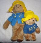 Lot of 2 Paddington Bear Vintage Plush Toy with Tags Eden 1975 19