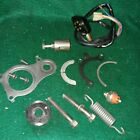 1983 Suzuki Tempter GR650-X ENGINE MISL. PARTS CASE FRAME ELECTRIC SPRING
