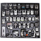 42x Domestic Sewing Machine Presser Foot Feet Kits Set for Brother Singer Janome
