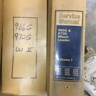 CAT Caterpillar 966G 972G SERVICE SHOP REPAIR MANUAL WHEEL LOADER 2VOL 3306B ENG