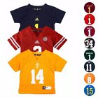 NCAA Official Replica Football Jersey Collection By Adidas New Born Size 3M 9M