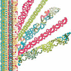 K  Company SERENDIPITY Borders Stickers Scrapbooking Cardmaking