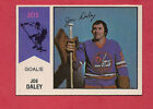 RARE 1974-75 OPC WHA # 38 JETS JOE DALEY GOALIE NRMT CARD