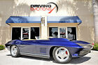 1965 Chevrolet Corvette Base 1965 CHEVY CORVETTE CUSTOM RESTO MOD BLUE TAN 502 MOTOR LOW MILES COLLECTOR