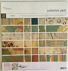 Basic Grey Recess Scrapbook Paper Collection Pack