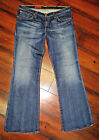 AG ADRIANO GOLDSCHMIED JEANS ANGEL BOOT-CUT DISTRESSED Women's 12 _31X29__CB450
