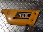 1977 SUZUKI TS185 OEM RIGHT SIDE BODY COVER TS 185 YELLOW FAIRING GUARD