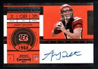 ANDY DALTON 2011 PLAYOFF CONTENDERS RC ROOKIE TICKET AUTOGRAPH SP AUTO MINT