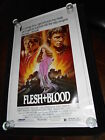 Flesh And Blood Rutger Hauer Original Rolled One Sheet Poster