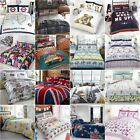 ADULTS DUVET COVER SETS BUTTERFLIES DOGS LONDON NEW YORK SINGLE DOUBLE