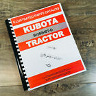 KUBOTA B1550HST-D TRACTOR PARTS ASSEMBLY MANUAL CATALOG EXPLODED VIEWS NUMBERS