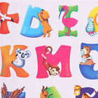 26 Animals Alphabet Wall decal Removable stickers educational decor kids Funny