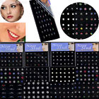 24 40 60X Wholesale Body Jewelry Mix Lot Crystal Nose Stud Piercing Display Bulk