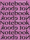 Dot Grid Notebook 1/8 Inch Squares 160 Pages: Notebook Not eBook with Pink Cover