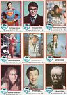 SUPERMAN THE MOVIE SERIES 1 & 2 1978 TOPPS MASTER CARD SET 165 + 28 STICKERS DC