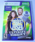 THE Biggest Loser Ultimate Workout Microsoft Xbox 360 GAME COMPLETE FITNESS CB