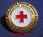 2004 HURRICANE SEASON American Red Cross pin REDUCED