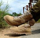 Military Desert Combat Mens High Top Motorcyce lShoes Tactical Army Work Boots