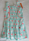 NWT Gymboree Girl ICE CREAM PARLOR Green Floral Dress Size 5
