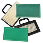 2 Pack HQRP Air Filter Kit for John Deere Lawn Tractors GY20575 GY21056 MIU11286