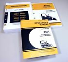JOHN DEERE 350C CRAWLER LOADER BULLDOZER SERVICE OPERATORS PARTS MANUAL CATALOG