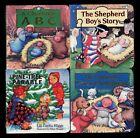 Tommy Nelson Set of 4 Christmas Board Books New in Wrap MINT Gift Idea