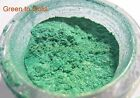 Green-gold Pigment Colorshift Chameleon Nail Pearl Lacquer Clear Primer Grey