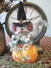 Prim* Handcrafted Mouse in treat Bag* Ornies* Shelf Sitter* Country* Halloween