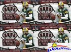 (4) 2015 Panini Crown Royale Football Factory Sealed HOBBY Box-16 AUTOGRAPH MEM