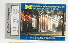 1987 Michigan vs Washington State original college football ticket stub
