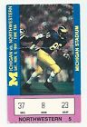 1991 Michigan Northwestern original football ticket stub Desmond Howard Heisman