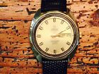 70'S OMEGA AUTOMATIC SEAMASTER COSMIC 2000 DAY DATE SWEEP SECS WRISTWATCH Nice