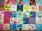 110 Kids Child I SPY quilt cotton fabric lot 4 inch square block NO DUPLICATES