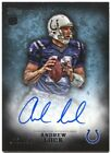 2012 Topps Inception Andrew Luck Rookie Autograph Blue RC Auto # 150