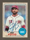 2017 Topps Heritage High Number REAL ONE AUTO Autograph Joey Votto Reds SP