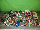 vintage Lego lot of legos with figures, pirate ships, space, fire, etc
