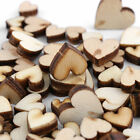 100pcs Rustic Wood Wooden Love Heart Wedding Table Scatter Decoration DIY Crafts