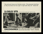 LA DOLCE VITA 22x28 inch MOVIE POSTER Federico Fellini MINT ROLLED NEVER FOLDED
