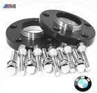 2 Pc BMW 3 SERIES HUB CENTRIC Wheel Spacers 15mm Black Anodized  5120 72 15BK