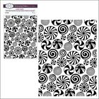Candy Burst embossing folder Creative Expressions embossing folders Christmas